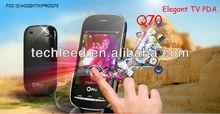 Cute PDA Low cost Best Design dual sim Quadband alibaba express FCC Ipro Q70 mobile phone