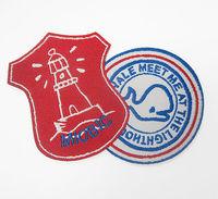 Laser Cut Pellon Backed Custom Logo Name Badge Machine Label