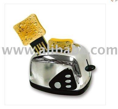 Toaster shape USB flash drive