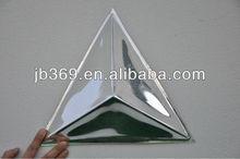 Laser cut acrylic fancy wall decor mirror