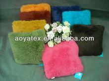 fashion Acrylic Plush tassels Cushion sofa cushion for sale