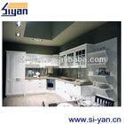 white pvc mdf cabinet kitchen door