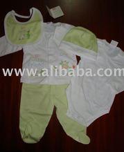organic peruvian pima cotton baby set clothing