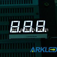 7 segment LED Display Board,0.56(14.6 mm) Triple Display