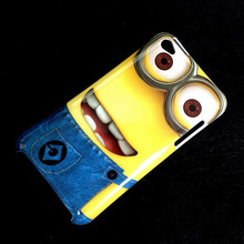 plastic hard cover cute cartoon Despicable Me 2 case for Apple ipod touch 4