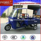 Hot 250cc Gasoline Motorized Cargo Three Wheel Motor Tricycle