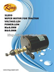 312CO 12V Wiper Motor for Tractor, windshield wiper motor