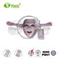 La purificación 2013 anti- las arrugas antienvejecimiento de colágeno cristal eléctrico de masaje facial máscara