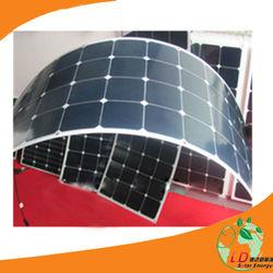 High Efficiency 120w135w Monocrystalline Bendable Solar Panel