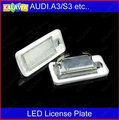 RS6 Plus. Avant 08-09 LED License plate light / licence frame lamp led license replacement for AUDI LP3517 ~GGG