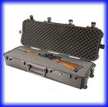 Plastic waterproof rifle gun hard case