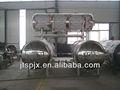 2+1 açoinoxidável completo- automático circulação de água quente de imersão alimentos autoclave horizontal de esterilização
