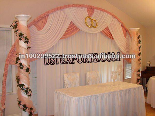 WEDDING ELEGENT STAGE BACKDROP