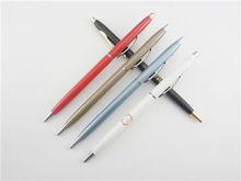 Metal Twist Open Ballpoint Pen