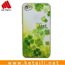 pure and fresh hard cellphone protective case for Iphone5