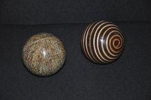Decorative Handcrafted Balls w/ Indigenous Materials
