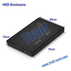 "2.5"" Sata USB 3.0 External Hard Disk Drive Case Box HDD Enclosure 2.5 1TB"