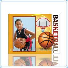 Personality Glass Sports Photo Frame For Basketball Souvenir