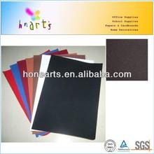 NEW velvet flocked paper,black craft velvet paper for photo frame backing board