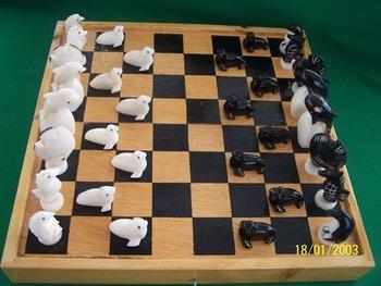 Tagua Chess Set