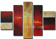 Newest Item Interior Wall Decor Oil Handmade Painting On Canvas