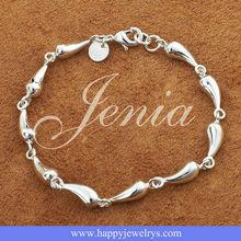 Teardrop Bracelet silver925 jewelry H209