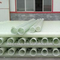 Fiberglass Reiforced plastic FRP Round Pipe