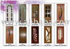 PVC interior door