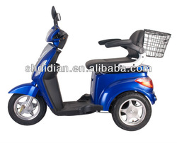Greek prefer 500W electric tricycle or e trike/electric mobility scooter/disabled mobility scooter with CE