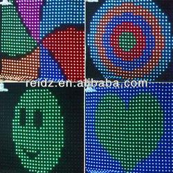 cortinas de tela de led para video DMX/PC