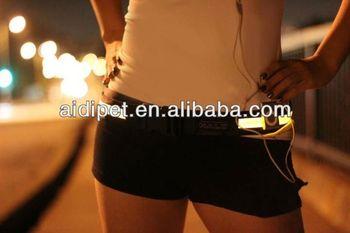 LED flashing runner waist pack waist bag belt bag fanny pack