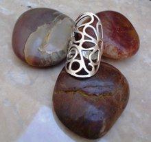 Flower Ring Sterling Silver