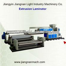 BOPP /pet/pe foil poly film lamination coating machinery