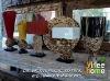 recycled teak lamp
