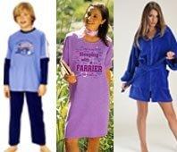 Pyjamasets, Girl's Night Shirts, Sleep Suits