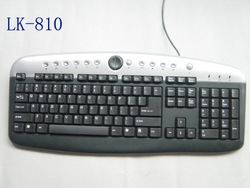 Multimedia Keyboard 104 Keys With 13 Hot Keys
