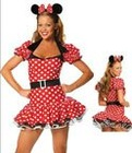 Minnie Mouse fancy dress Costume with head band