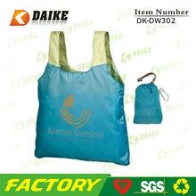Nylon reusable eco wholesale fold bags DK-DW302