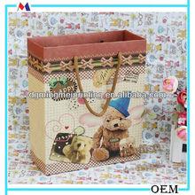Cute kraft handbag&package bag&gift bag