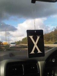 X Air Freshener