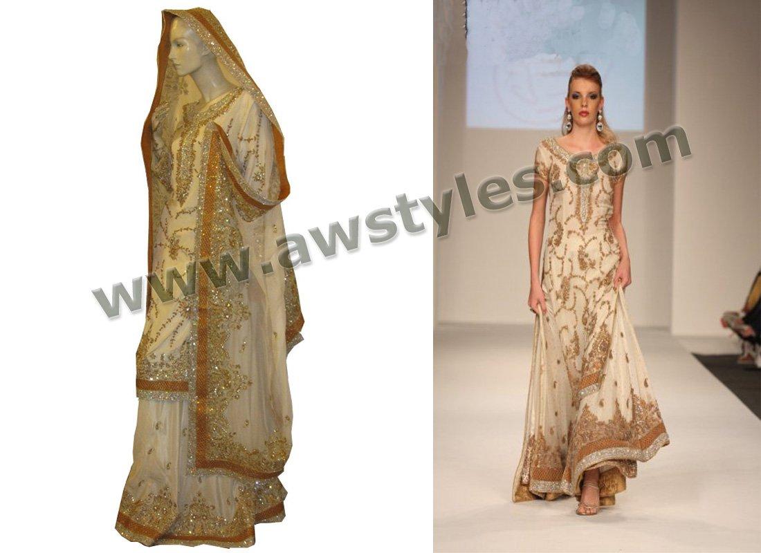 Robes de mariée pakistanais