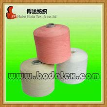 100 pure virgin polyester spun yarn high quality polyester yarn dyed yarn