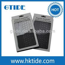 Gtide KB656 Mini Bluetooth Keyboard for iPad mini, iPad mini Bluetooth Keyboard Aluminum Smart Cover
