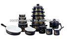 24 pcs enamelware set housewares and kitchen