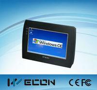 wecon 7 hmi inch industrial mini pc,human machine,windows tablet rs485 / rs232