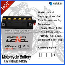 CG125 MOTORCYCLE PARTS battery