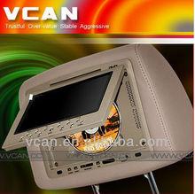 HAV-744 AV input/output headrest twin car dvd players