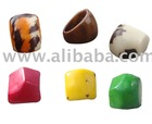 Fashion Tagua Rings