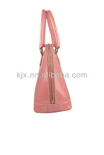2013 New Model Pink Leather Hobo Tote Bag