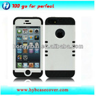 factory wholesale mobile phone case robot combo cover for iphone 5